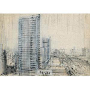 Dąbrowski Henryk, Warszawa - Ściana Wschodnia, 1964