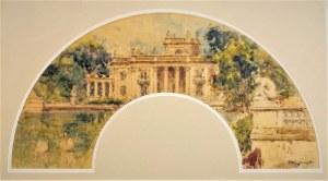 Tadeusz CIEŚLEWSKI - ojciec (1870-1956), Pałac na Wodzie w Łazienkach Królewskich w Warszawie