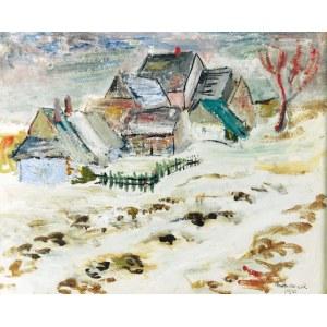 Edward MATUSZCZAK (1906-1965), Zima w górach - Roztopy, 1935