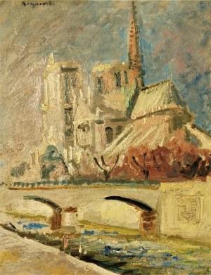 Stanisław BORYSOWSKI (1901-1988), Katedra Notre Dame w Paryżu, przed 1939