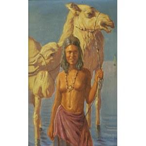 Konstanty SZEWCZENKO (1910-1991), Dziewczyna arabska z wielbłądem