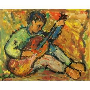 Nathan GUTMAN (1898-1987), Chłopiec z gitarą