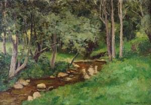 Stefan FILIPKIEWICZ (1879-1944), Strumyk leśny, 1932