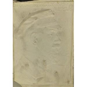 Jan RASZKA (1873-1945), Plakieta z portretem Edwarda Rydza Śmigłego