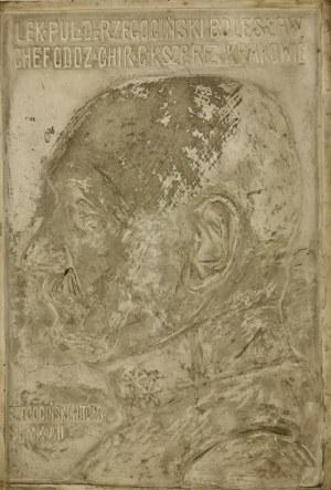 Witold RZEGOCIŃSKI (1883-1969), Plakieta: Popiersie płk Bolesława Rzegocińskiego