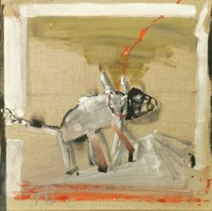 Teresa PĄGOWSKA (1929-2007), Pies na sznurku, 1996
