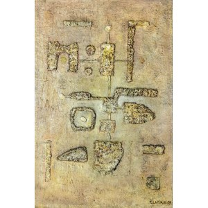 Tadeusz ŁAPIŃSKI (1928-2016), Malarstwo materii, 1957