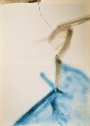 Norman LETO (ur. 1980), Coś przewieszone przez coś, 2014