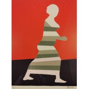 Marek ŻUŁAWSKI (1908-1985), Ucieczka Zuzanny; z cyklu: Zuzanna, 1975