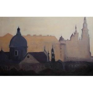 Tomasz Kuczara, Kraków we mgle, 2019 r.