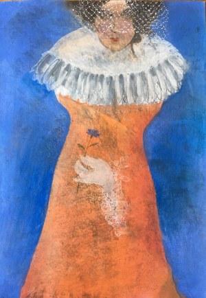 Agata Rościecha, Bez tytułu 2 z cyklu Muzy błękitne, 2019
