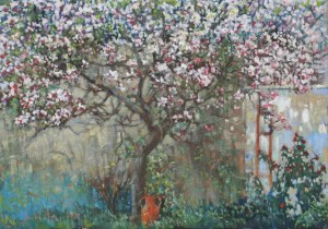 Michał Baca, Kłótnia róży z magnolią, 2020