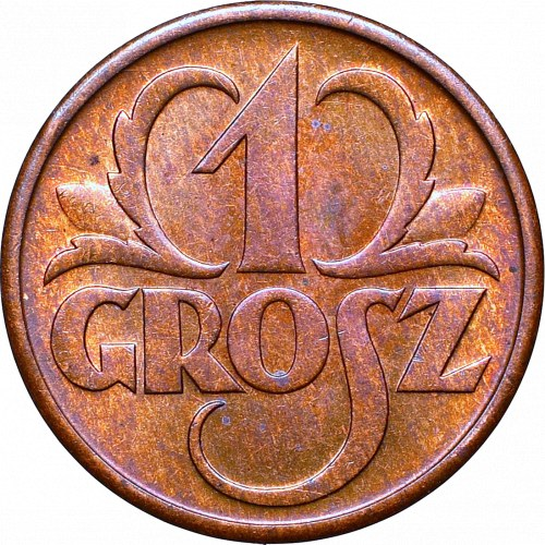 II Republic of Poland, 1 groschen 1934