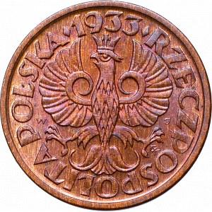 II Republic of Poland, 1 groschen 1933
