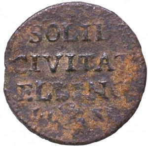 Friedrich August II, Schilling 1763, Elbing