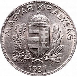 Hungary, 1 pengo 1937