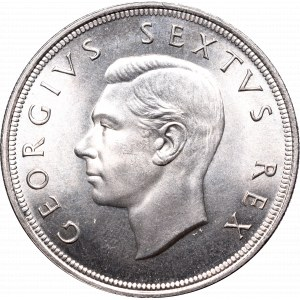 South Africa, 5 shillings 1951