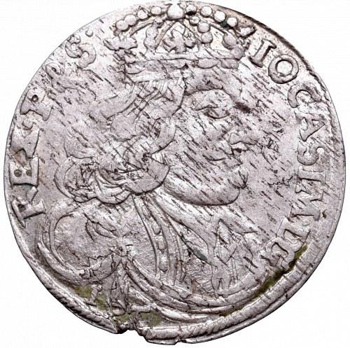 John II Casimir, 6 groschen 1656, Cracow