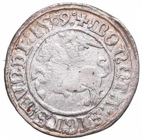 Sigismund I the Old, Halfgroat 1509, Vilnius