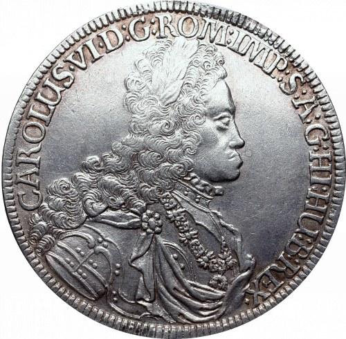 Austria, Carol VI, Thaler 1718