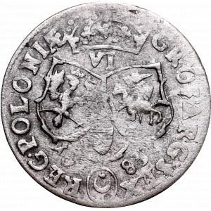John III Sobieski, 6 groschen 1683, Bromberg