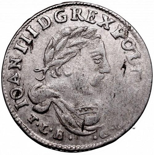 John III Sobieski, 6 groschen 16??, Bromberg