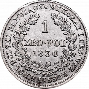 Kingdom of Poland, 1 zloty 1830