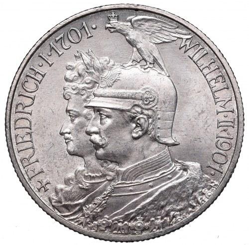 Germany, Preussen, 2 mark 1901