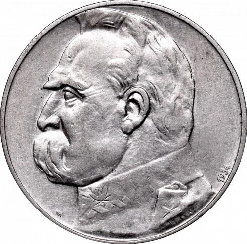 II Republic of Poland, 5 zloty 1934 Riffle eagle