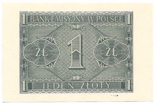 GG, 1 złoty 1941