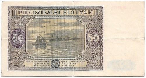 PRL, 50 złotych 1946 Ł