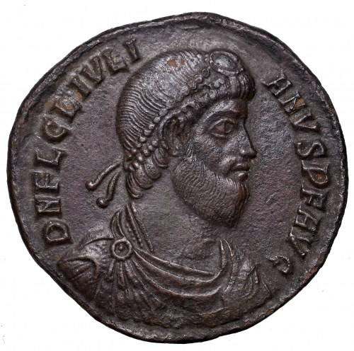 Roman Empire, Julian I, Follis Siscia