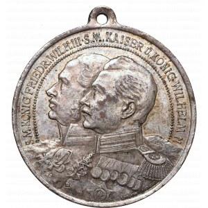 Śląsk, Medal 100-lecie 2 górnośląskiego Pułku Piechoty 1913