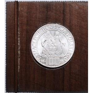 PRL, 100 złotych 1966 Mieszko i Dąbrówka w etui