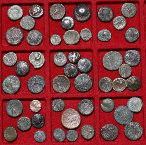 Lot of ancient coins