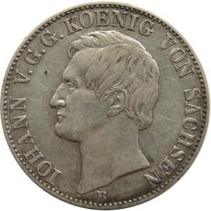 Niemcy, Saksonia, Johann, talar 1861 B, Hannower