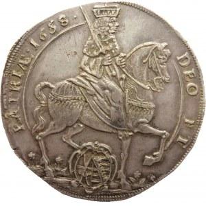 Niemcy, Saksonia, Jan Jerzy II, talar wikariacki 1658, Drezno