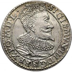 Zygmunt III Waza, szóstak 1596, Malbork, bardzo ładny