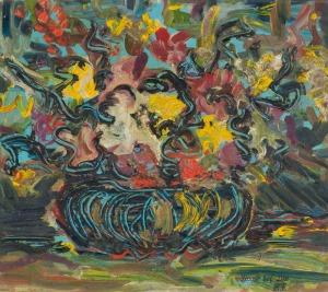 Engelbert BYTOMSKI, KWIATY, 1964