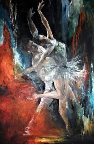 Aurelia Sikiewicz-Wojtaszek, Taniec zmysłów II, 2020