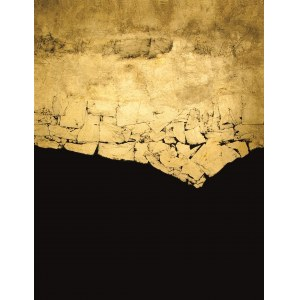 Anna Gulak, Impressione in Black and Gold V, 2016