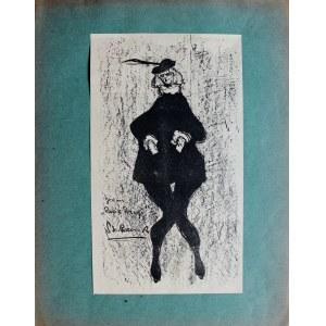 Stanisław (Rzecznik) Rzecki-Szreniawa (1888-1972), Bronisława Jeremi jako pazik Porcji w sztuce Szekspira Kupiec Wenecki, 1904