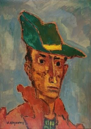 Stanisław Eleszkiewicz (1900 Czutowo k. Połtawy – 1963 Paryż) Autoportret w kapeluszu,
