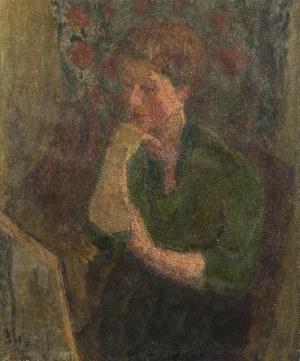 Eugeniusz Eibisch (1896 Lublin - 1987 Warszawa) Portret kobiety