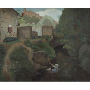 Jacques Gotko (1899 Odessa - 1944 Auschwitz) Pejzaż