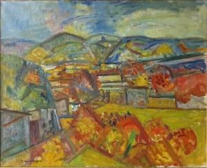 Pinchus Krémegne (1890 Zaloudock - 1981 Céret) Pejzaż