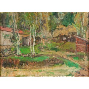 Zygmunt Schreter (1886 Łódź - 1977 Francja) Pejzaż