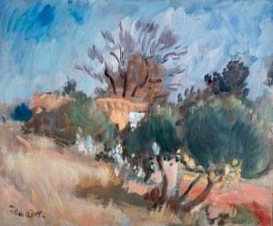 Wacław Zawadowski (1891 Skobiełka/Wołyń - 1982 Aix-en-Provence) Pejzaż z południa Francji,
