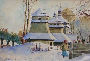 Stanisław Gibiński (1882-1971) W drodze do kościoła