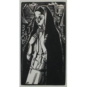 Tadeusz Kulisiewicz (1899-1988) Dziewczyna w chuście
